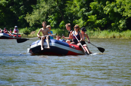 Bardo Atrakcja Spływ pontonowy Rafting Bardo